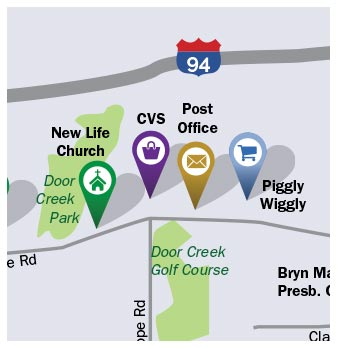 Cottage Grove Map